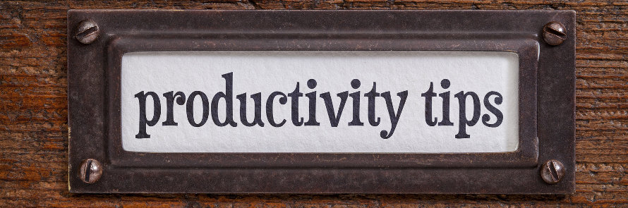 Seven Tips for Improving Your Productivity